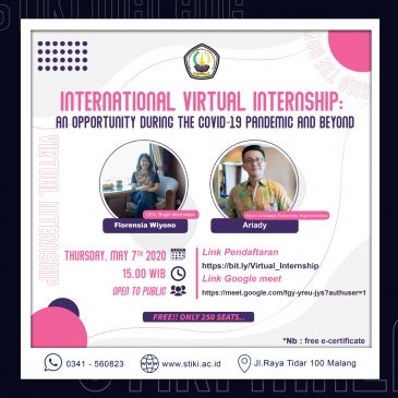 International Virtual Internship: An Opportunity During The COVID-19 Pandemic and Beyond