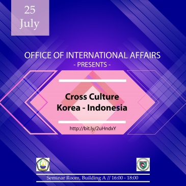 Cross Culture Korea – Indonesia
