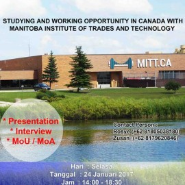 Studying and Working Opportunity in Canada with Manitoba Institute of Trades and Technology