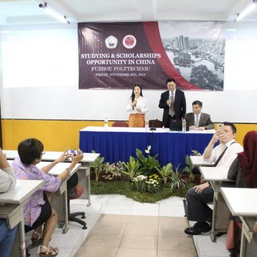 """Mini-Seminar Entitled """"Studying and Scholarships Opportunities in China"""""""