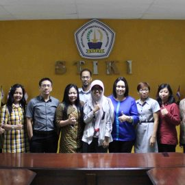 STIKI Malang sent a student to join the Double Degree Program